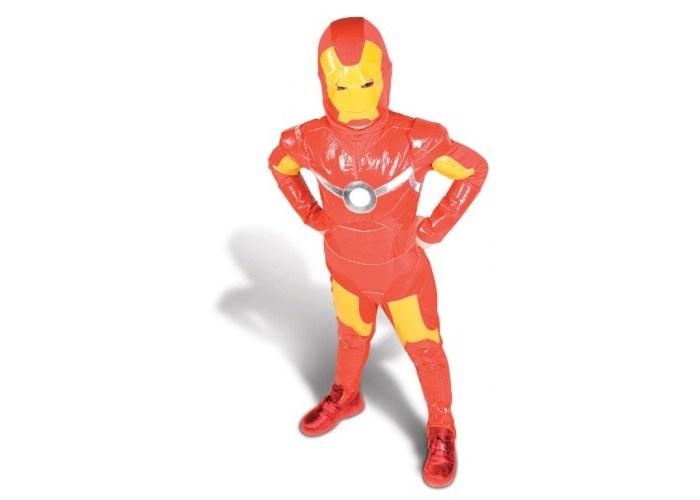 Новогодний костюм для мальчика железный человек своими